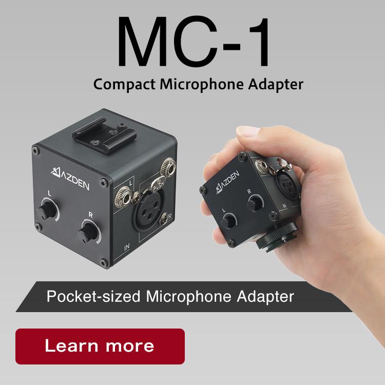 MC-1/Compact Microphone Adapter