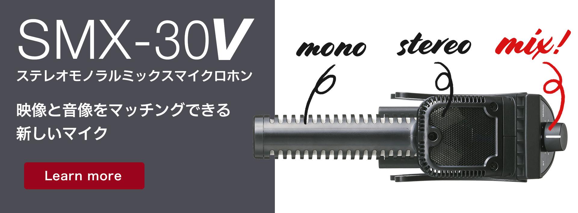 ステレオモノラルミックスマイクロホン SMX-30V